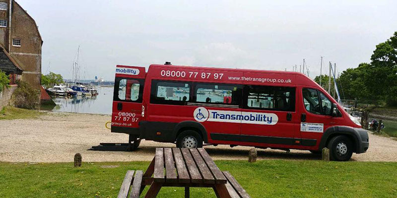 Wheelchair Friendly Taxis in Southampton | Transmobility
