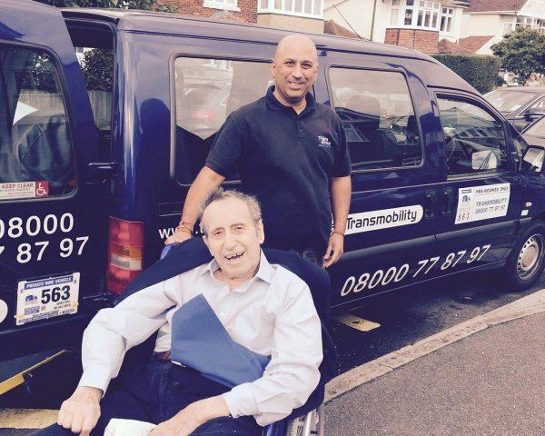 Wheelchair Taxi Operator Southampton