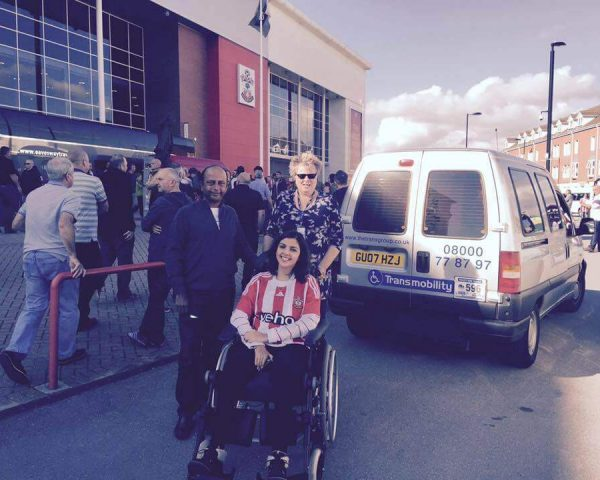 Disabled taxis in Southampton for all events