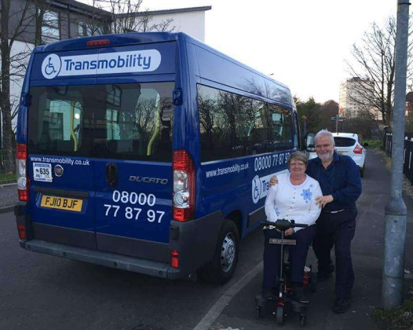 Request a wheelchair taxi in Southampton today
