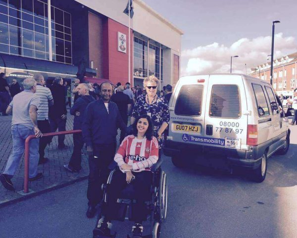 Wheelchair friendly taxis in Southampton